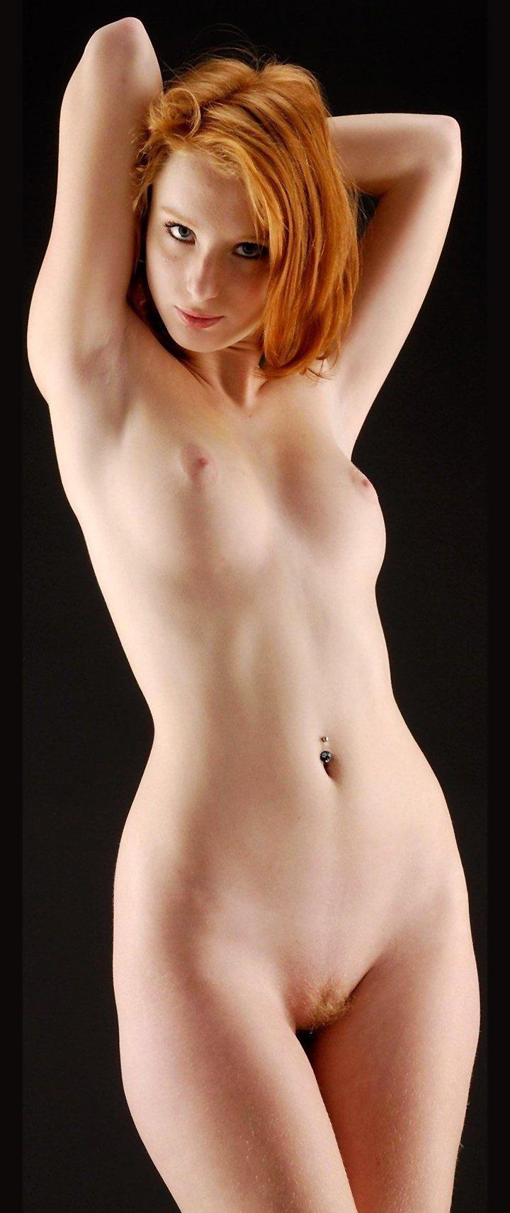 Beautiful redhead with amazing sexy body