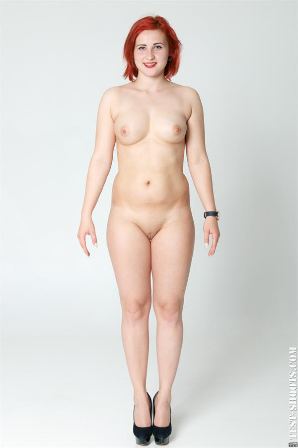 Fox W chubby redhead sexy babe nude casting