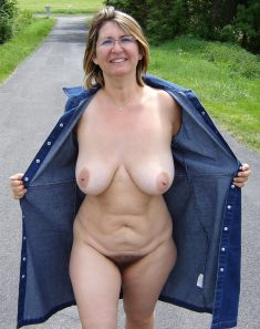 Hairy amateur wife with big natural tits