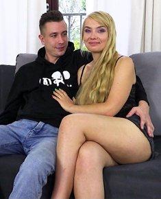 Ładna blondynka z Warszawy Leila i Filip – zaraz będzie seks :)
