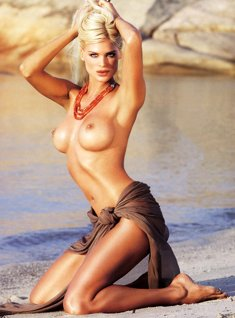 Victoria Silvstedt naked for Maxim magazine