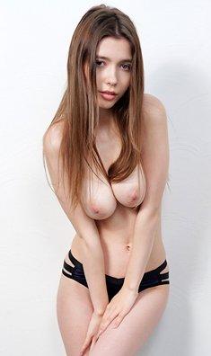 Mila Azul exclusive big tits supermodel casting