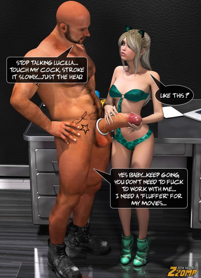Whore in the office – 3D Comic XXX