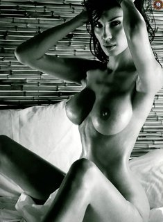 Evgenia Dvoretskaya fully nude for Maxim Magazine