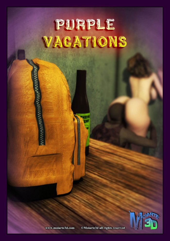 Purple vacations 3d porn comic