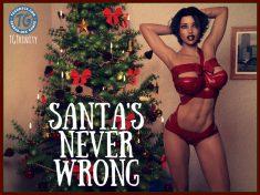 Santa's Never Wrong XXX Comic 3D