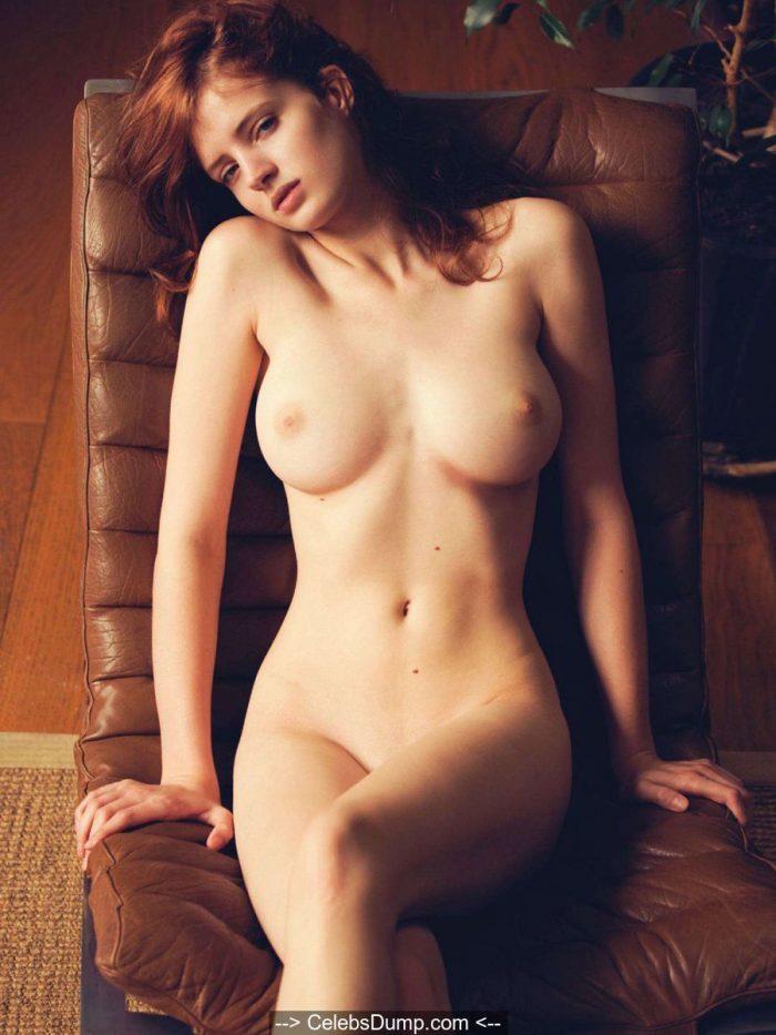 Fanny Francois fully nude for Treats Magazine