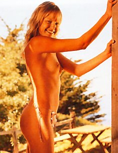 Malin Akerman topless and fully nude