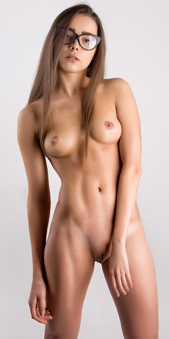 Young girl with perfect body