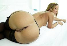 Hot slut Jada Stevens showing off her incredible booty