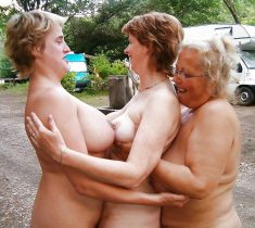 A group of mature women showing off their naked bodies