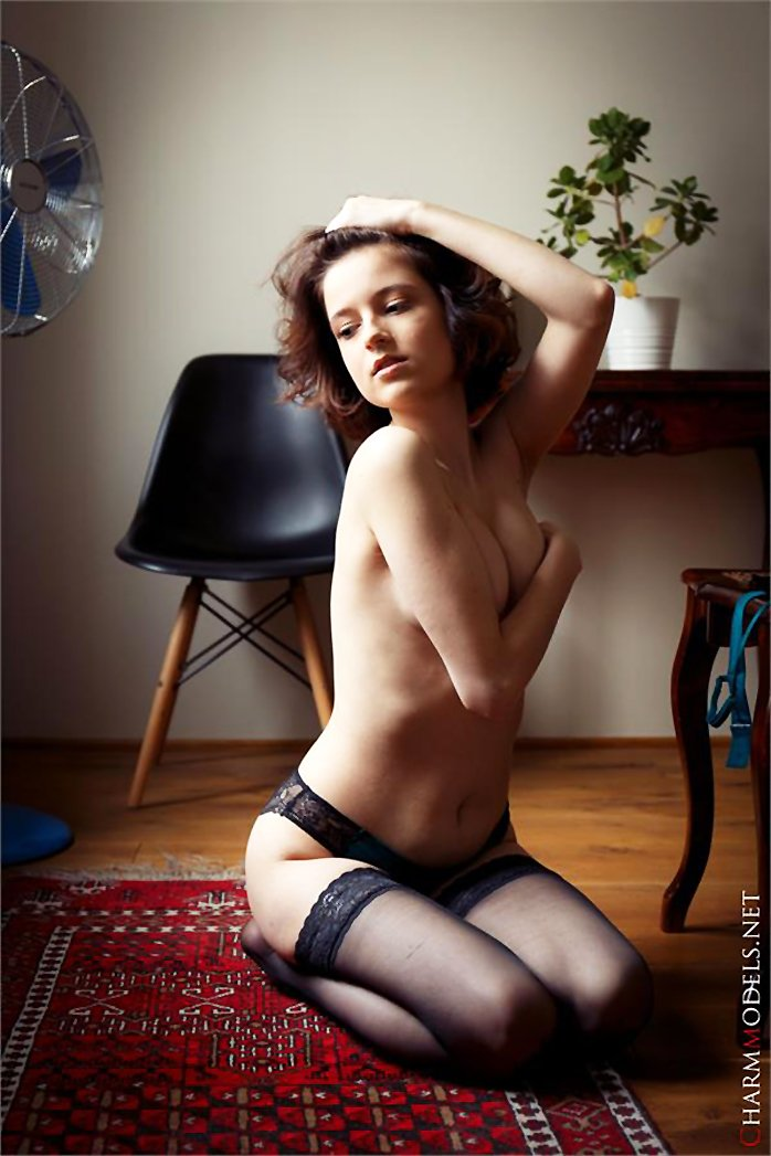 Polyna stockings and glamour lingerie